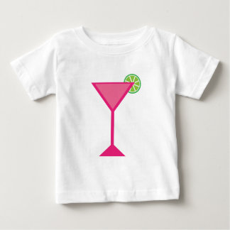 Pink Cocktail With Lime Baby T-Shirt