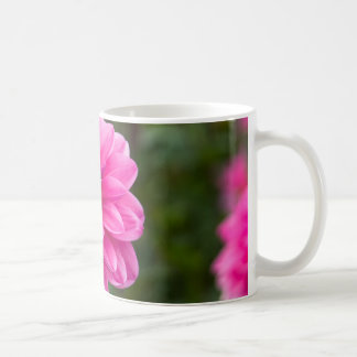 Pink Dahlia Basic White Mug