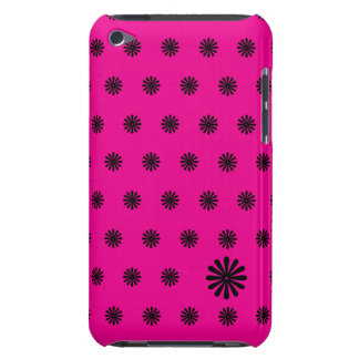 Pink Daisy Dot iPod Case-Mate Cases