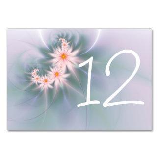 Pink daisy spray table cards
