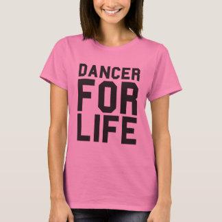Pink Dancer for Life T-Shirt