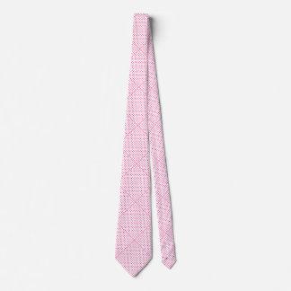 Pink Diamond Dots Tie