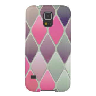 Pink Diamond Mosaic Galaxy S5 Case