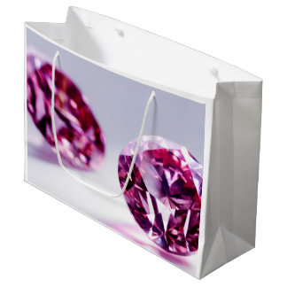 PINK DIAMONDS SHOPPING BAG