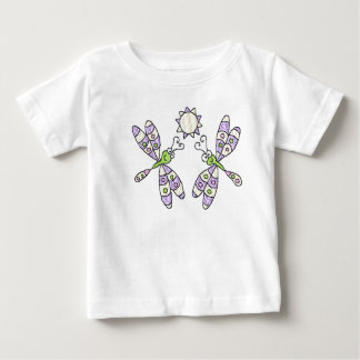Pink Dragonflies & Sun Infant & Toddler Shirt