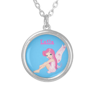 Pink Fairy Necklace