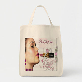 Pink Fashion - Grocery Tote