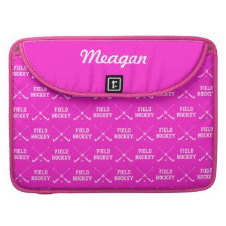 Pink Field Hockey MacBook Pro Sleeve