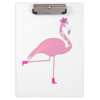 Pink Flamingo - Clipboard