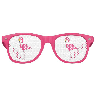 Pink Flamingo Flamingos Tropical Bird Sunglasses