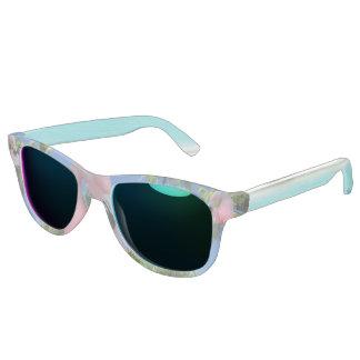 Pink Flamingo Frost Sunglasses, Ocean Mirror Sunglasses