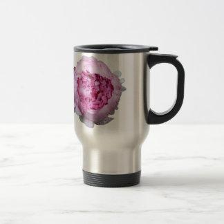 Pink Floral Petals Coffee Mug