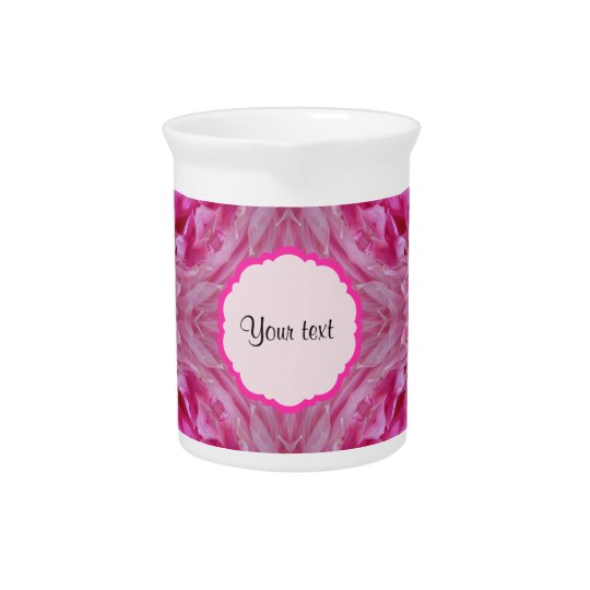 Pink Florals Drink Pitcher