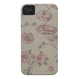 Pink Flower Pattern - French iPhone 4 Case-Mate Cases