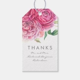 Pink Flowers Elegant and Romantic Watercolors