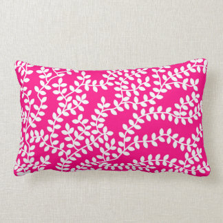 Pink Forest Lumbar Cushion