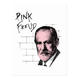 Pink Freud Sigmund Freud Postcard