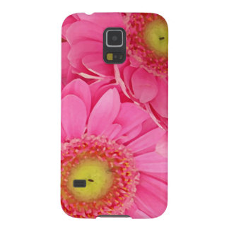 Pink Gerber Daisies Galaxy S5 Case