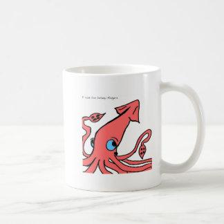 Pink Giant Squid Mug