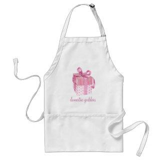 Pink Gift Domestic Goddess Apron