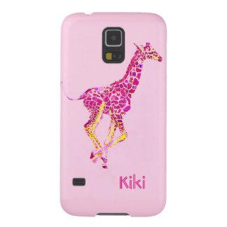 pink giraffe case for galaxy s5