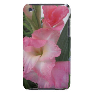 Pink Gladiolus Flowers iPod Touch Covers