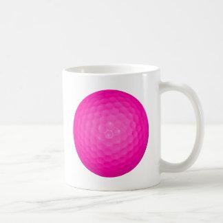 Pink Golf Ball Mug