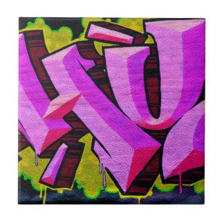 Pink Graffiti Tiles