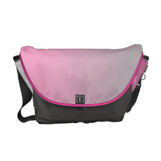 Pink & Gray Ombre Commuter Bags