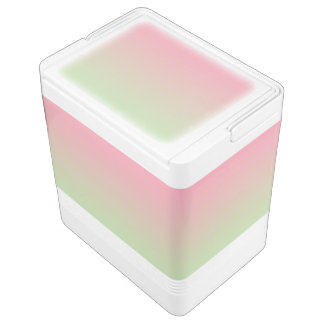 Pink & Green Ombre Chilly Bin