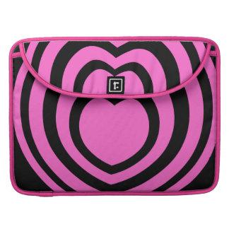 Pink Heart MacBook Pro Sleeves