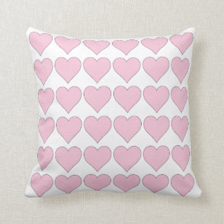 Pink Hearts Thirty Six Cushion
