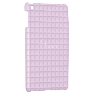 Pink Honeycomb Fabric iPad Case Mini Template