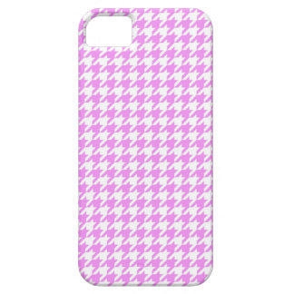 Pink Houndstooth iPhone 5 Cover
