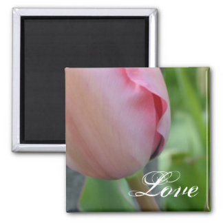Pink Inspiration- Love Square Magnet