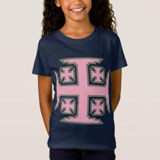 Pink Kross™ Girls' Bella Jersey T-Shirt