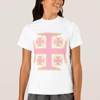 Pink Kross™ Girls' Double-Dry Jersey Tee