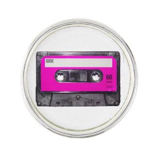 Pink Label Cassette Lapel Pin