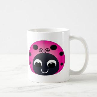 Pink Ladybug Mug