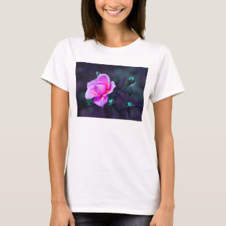 Pink lilac and cyan T-Shirt