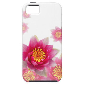 Pink Lilies Tough iPhone 5 Case