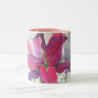 Pink Lilly Mug