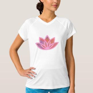 Pink Lotus Athletic Yoga Tee