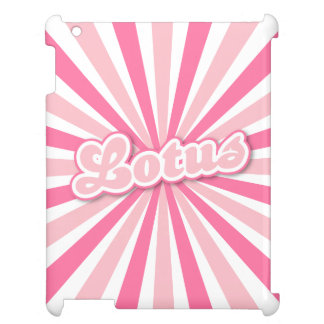 Pink Lotus Cover For The iPad 2 3 4
