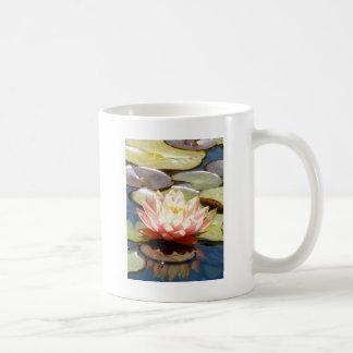 Pink Lotus or Water Lilly Coffee Mug