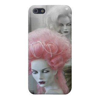 Pink Marie Antoinette Wig iPhone 5 Cover