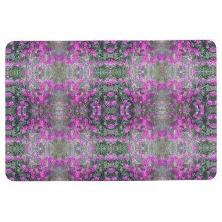 Pink / Mauve Sweet Pea Photo Floor Mat