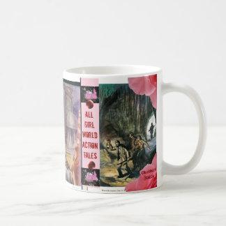 Pink Mist Magazine: Girls Own Adventure Stories... Basic White Mug