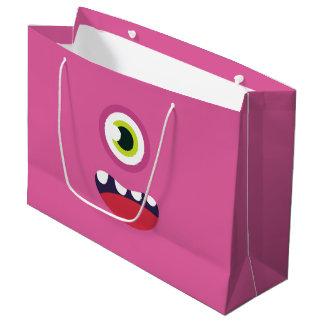 Pink Monster Large Gift Bag