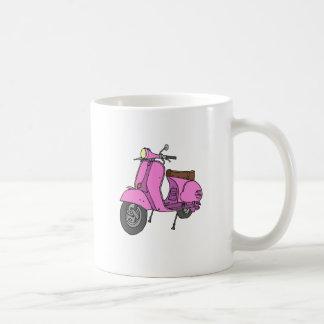 Pink Motor Scooter Coffee Mug